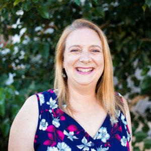 Webinar hosting presenter Mary Ellen S