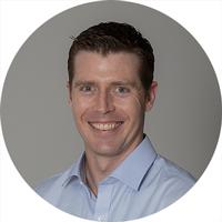 Webinar hosting presenter Darren Cordy