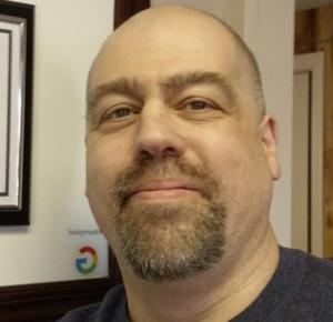 Webinar hosting presenter John Sheeley, EA