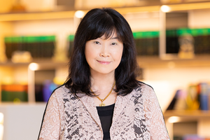 Webinar hosting presenter Rosita Lau
