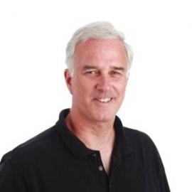 Webinar hosting presenter Dave Thomas