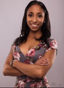 Webinar hosting presenter Janine  H