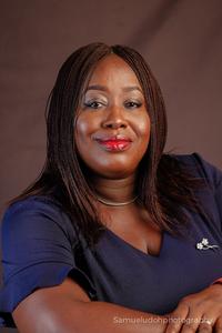 Webinar hosting presenter Piboere Okukulabe
