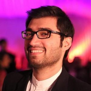 Webinar hosting presenter Shaheryar Popalzai